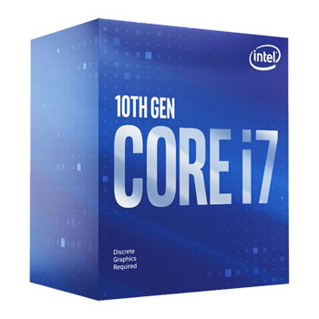 Intel Core i7-10700F 2.90- 4.80 GHz 8-Core 16 Threads Processor > (Must be purchased with Z490 Motherboard )