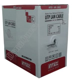 INTEX Cat5E UTP Cable Rolls 305 Meters