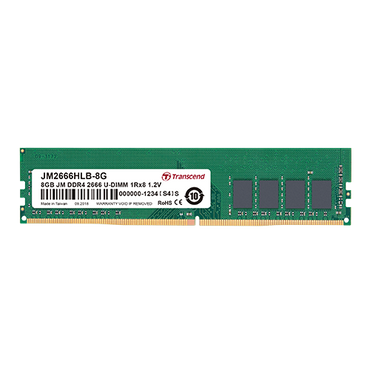 Transcend 8GB single DDR4 2666MHz Desktop Memory JM2666HLG-8G