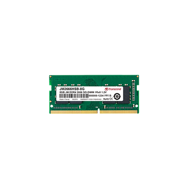 Transcend 16GB single DDR4 2666MHZ SoDimm JM2666HSE-16G