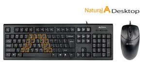 A4Tech KRS-8572 USB Desktop Keyboard+Mouse Combo