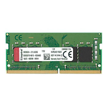 Kingston 8GB single DDR4 2400MHz SoDimm KVR24S17S8/8
