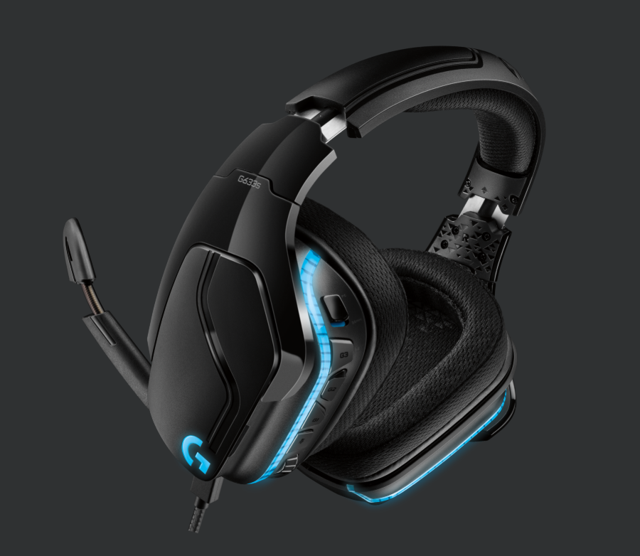 Logitech G633S 7.1 Light Sync Gaming Headset Black