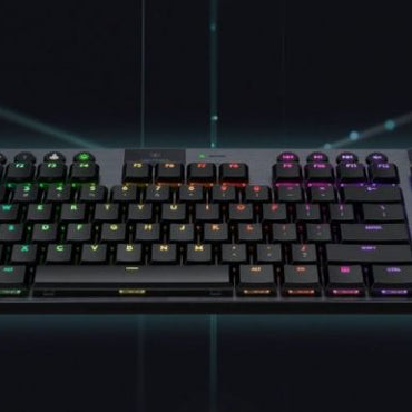 Logitech G913 TKL LIGHTSPEED Wireless RGB Mechanical Gaming Keyboard (Tactile / Clicky / Linear)