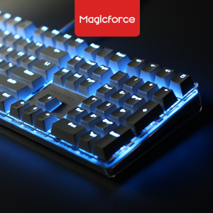 Magicforce Crystal 108 Full Mechanical (Gateron blue/brown) Keyboard