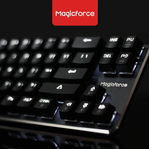 Magicforce Smart 68 Key Mechanical (Gateron blue/brown) White Led