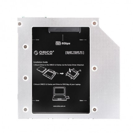 ORICO L95SS Hard Drive SSD Caddy for Laptop 7mm and 9.5mm