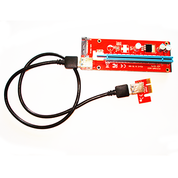 PCI-E 1X-16X USB3.0 (version 009S sata) Graphic Card RISER