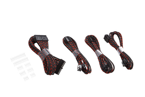 Phanteks PH-CB-CMBO 500mm 24Pin/8Pin PCIE-E Extension Cable Pack 1x 24P, 1x 4+4P, 2x 6+2P