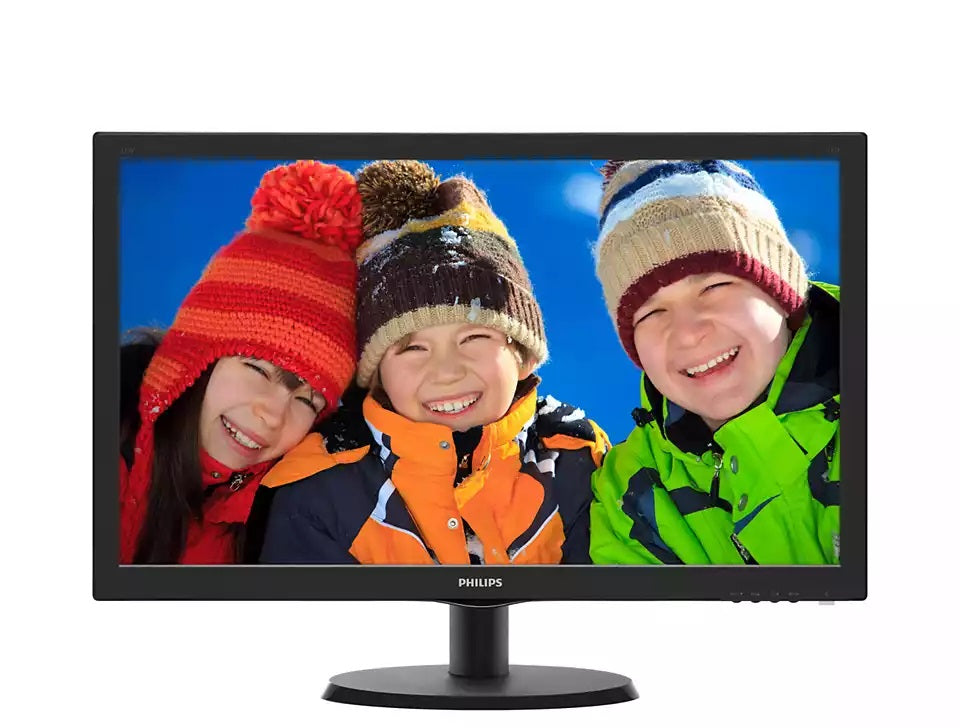 Philips 223V5LHSB2 21.5in LED Monitor with SmartControl Lite HDMI/VGA