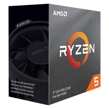 AMD Ryzen 5 3500 6-Core 6-Thread 3.60-4.10 ghz > (must be purchased with B450 or higher motherboard)