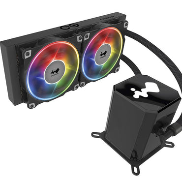 INWIN SR24 240mm AIO Twin Turbine Liquid CPU Radiator Cooler (IW-LC-SR24)