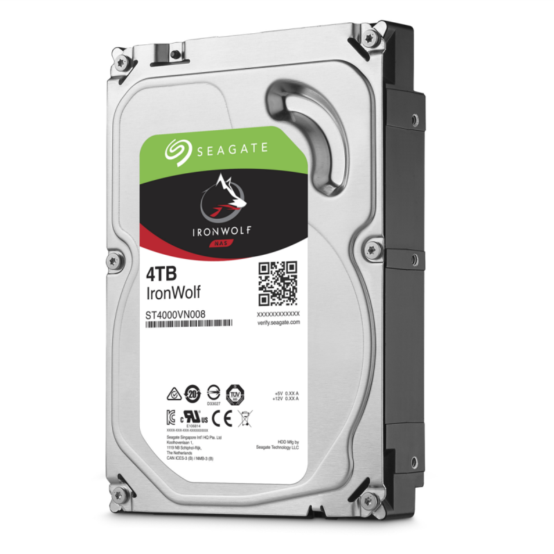 Seagate IronWolf 4TB 64mb 5900rpm ST4000VN008 (NAS)