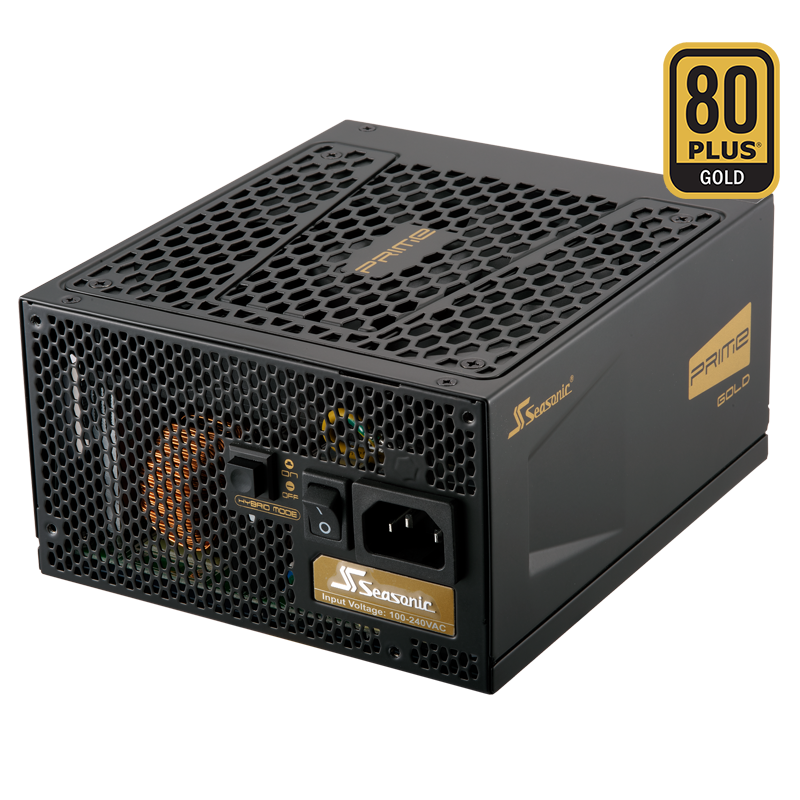 Seasonic Prime GOLD 750watts 80+ Full Modular PSU SSR-750GD