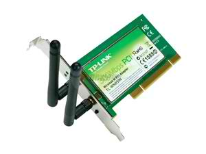 TPLink TL-WN851N 300Mbps Wireless N PCI Adapter