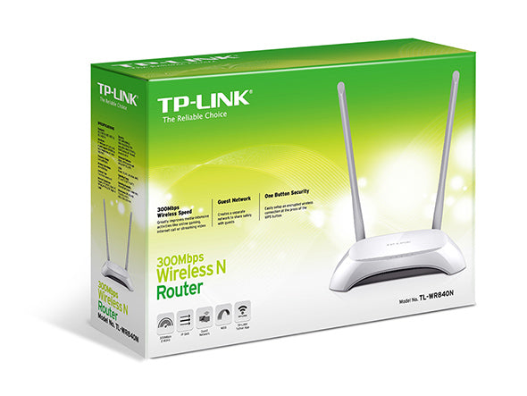 TPLink TL-WR840N 300Mbps Wireless N Router