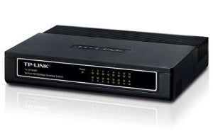 TPLink TL-SF1016D 16-Port Desktop Switch