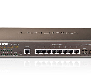 TPLink TL-SG3210 JetStream 8-Port Gigabit L2 Managed Switch with 2 SFP Slots