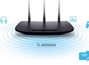 TPLink TL-WR940N 450Mbps Wireless N Router