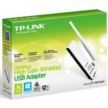 TPLink TL-WN722N 150mbps wireless usb adapter