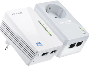 TPLink TL-WPA4226KIT AV500 Powerline Wi-Fi Kit
