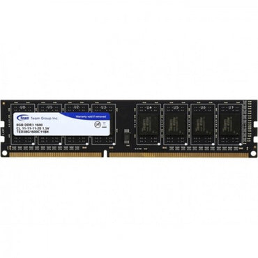 Team Elite 8GB DDR3 1600 Desktop Memory