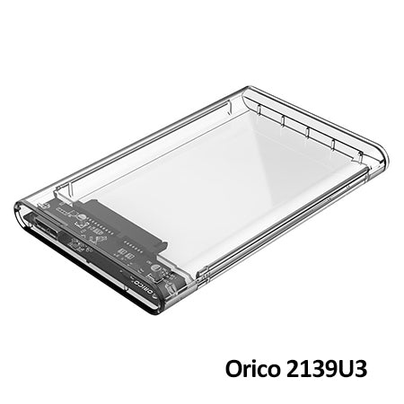 Orico 2139U3 2.5in Transparent USB3.0 Hard Drive Enclosure