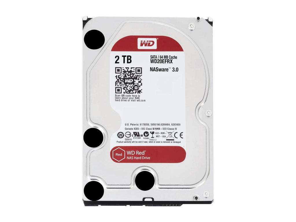 Western Digital WD Red 2TB WD20EFRX Hard Drive for NAS