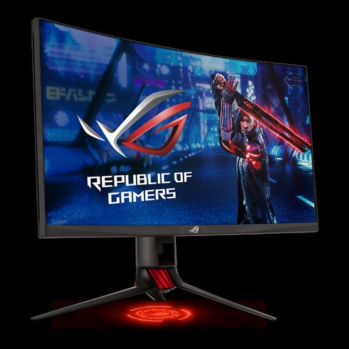 "Asus ROG Swift XG27WQ 27"" Curved WQHD 165hz Adaptive FreeSync 2K Gaming Monitor"