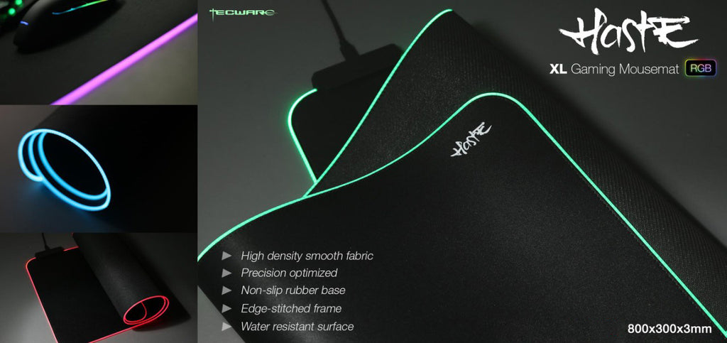 Tecware Haste XL RGB Gaming Mousemat