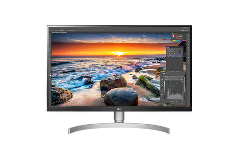 LG 27UL850-W 27in 3840x2160 4K 5ms IPS LED with Vesa DisplayHDR 400