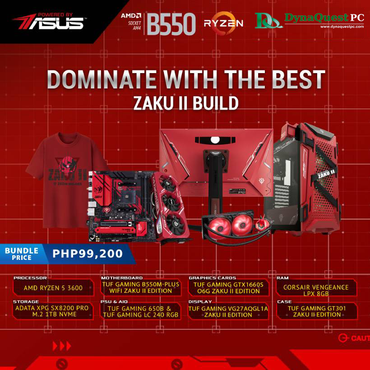 Asus TUF Gaming X3 GTX 1660 Super Advance ZAKU II Edition 6GB GDDR6 TUF 3-GTX1660S-A6G-ZAKU > (Must be bought with ZAKU PC Set)
