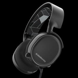 Steelseries Arctis 3 Black 2019 Edition Gaming Headset with Noise Canceling 61503