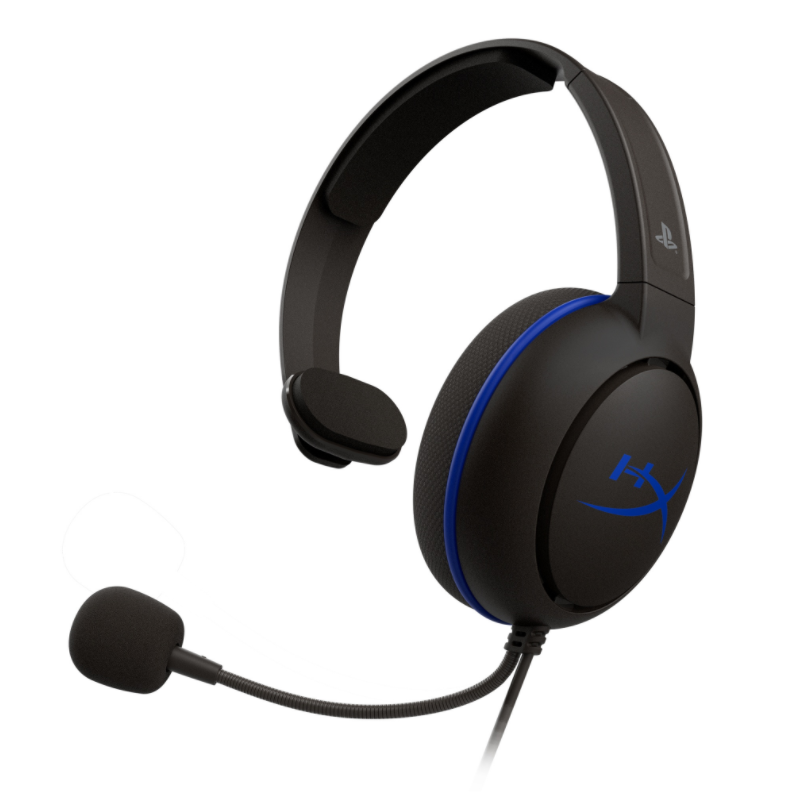 Kingston HyperX Cloud Chat Headset - KHX-HSCCHS-BK/AS