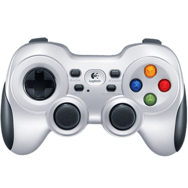 Logitech F710 Wireless Gamepad, rumble