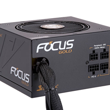 Seasonic Focus GM-650 GOLD 650watts 80+ Semi Modular PSU SSR-650FM