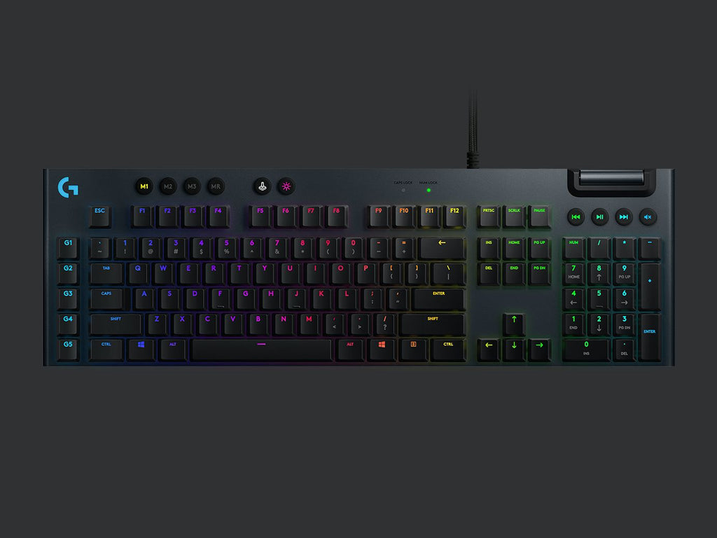 Logitech G813 RGB Lightsync Mechanical Gaming Keyboard (gx clicky / tactile / linear)