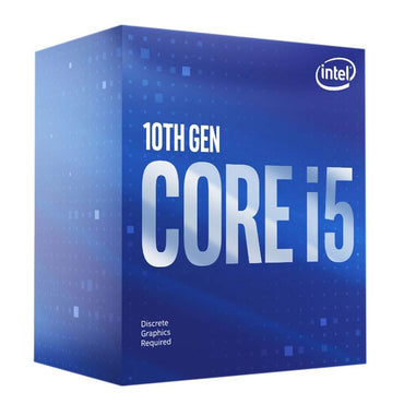 Intel Core i5-10400 2.90-4.30 Ghz 6-Core (LGA1200) Processor > (Must be purchased with a compatible motherboard)