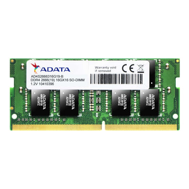Adata 8GB DDR4 2666MHz Single SoDimm AD4S266638G19-S