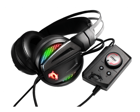 MSI Immerse GH70 RGB 7.1 Surround Sound Headset