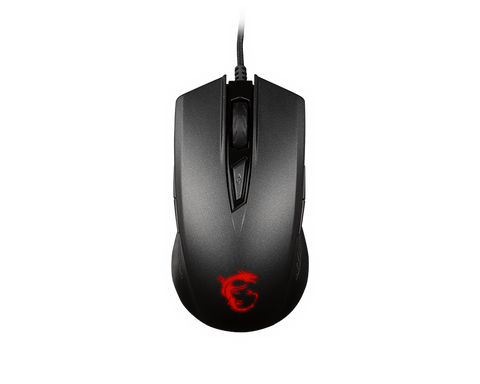 MSI Clutch GM40 (Red or Black) Gaming Mouse (Wired)