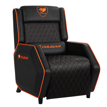Cougar Ranger Gaming Sofa - Black/Orange