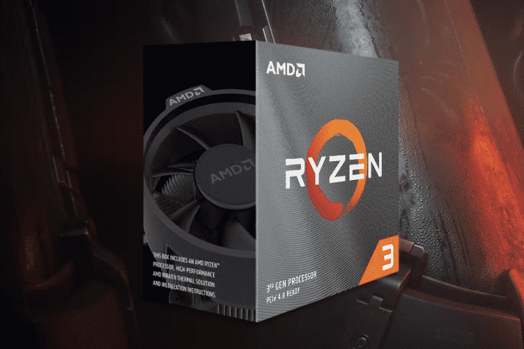 AMD Ryzen 3 3300X 4-Core 8-Thread 3.80-4.30 Ghz AM4 Processor > (Must be purchased with a compatible motherboard)