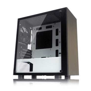 Tecware Nexus M Black-White TG Case 3x120mm USB3