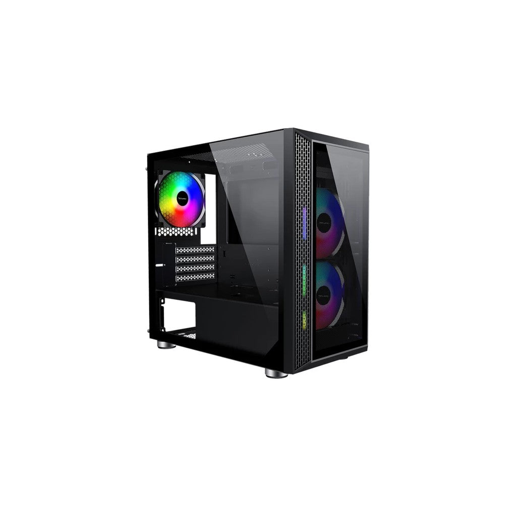 Tecware Vega M mATX TG Case (3x120mm ARGB Fan)