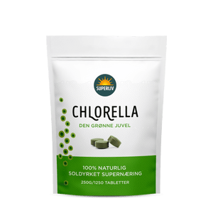 Chlorella, 1250 tabletter, Superliv