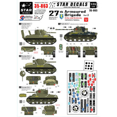 Star Decals 1/35 Scale