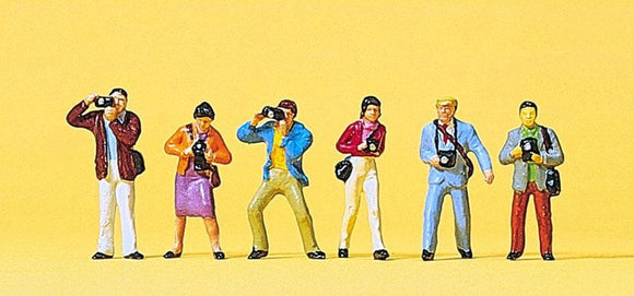 Preiser 10089 00/H0 Photographers Model Railway Figure Set - SGS Model Store