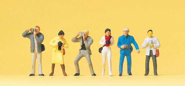 Preiser 14080 00/H0 Photographers Model Railway Figures - SGS Model Store