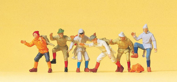 Preiser 14082 00/H0 Mountain Climbers Model Railway Figures - SGS Model Store